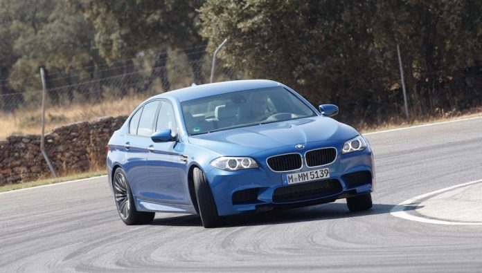 Car safety - what makes a car safe? BMW M5 demonstrates controlled oversteer