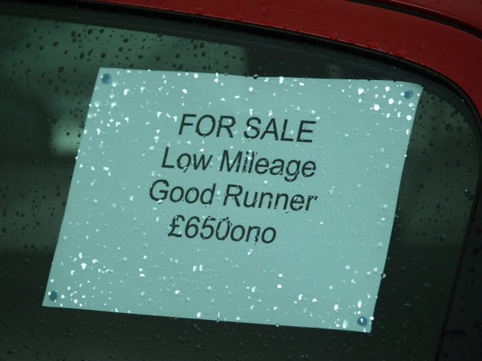 How to sell your car for cash