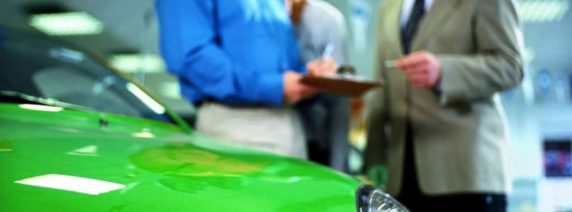 Can you give a car dealer cash?