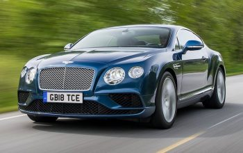 18-reg number plate on a Bentley