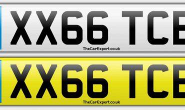 UK number plate system