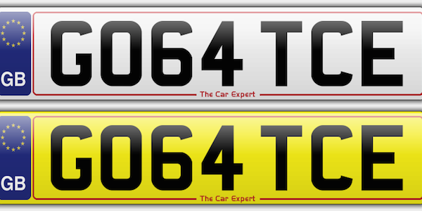 How does the UK number plate system work?