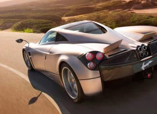 Pagani Huayra - best cars of 2012