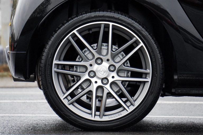Add flair to your car with custom alloy wheels