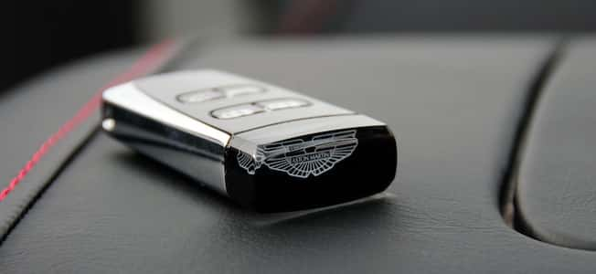 Aston Martin's Car Key is called an Emotional Control Unit (2013, The Car Expert)