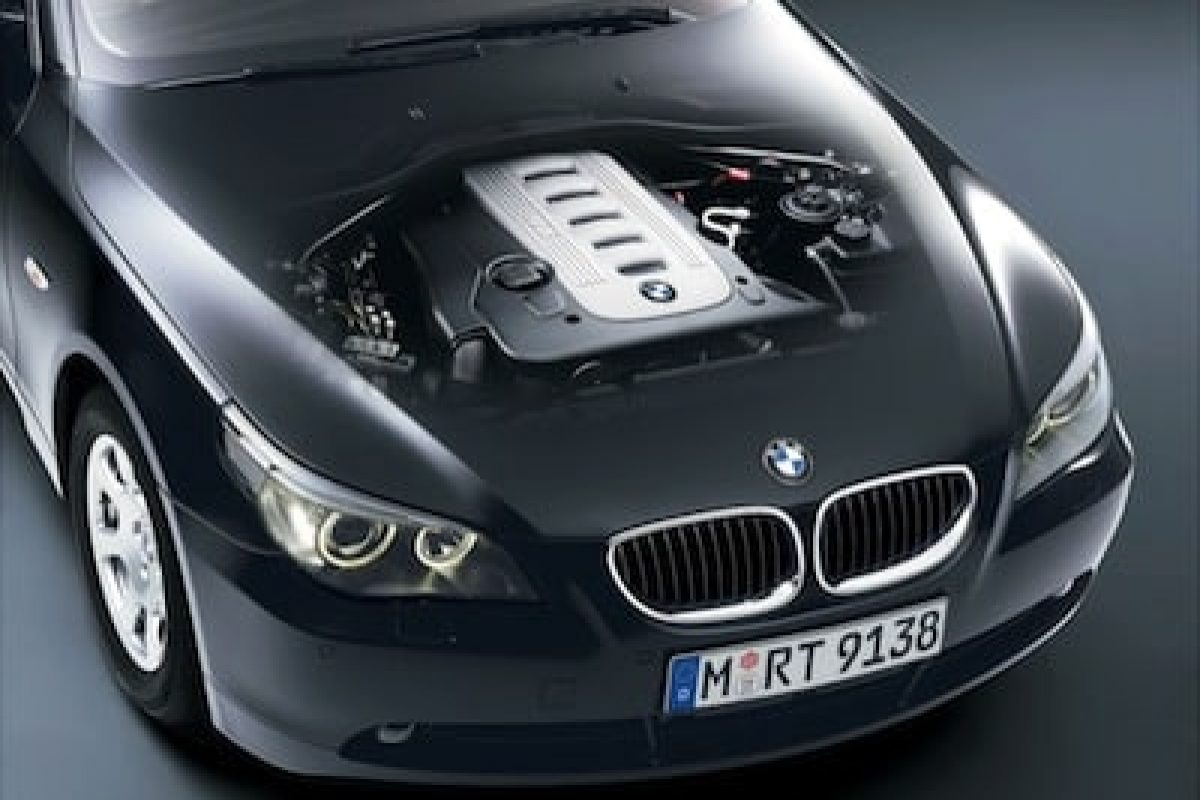 BMW diesel engine in a 5-series