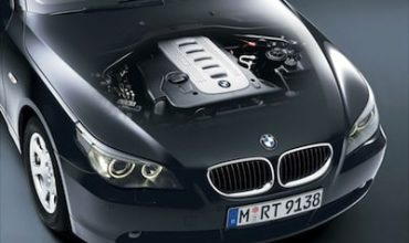 BMW diesel engine in a 5-series