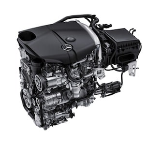 Mercedes-Benz diesel engine