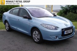 Cheap used Renault Fluence electric car