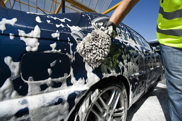 Use a good car shampoo when cleaning your car (The Car Expert)