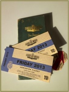 Tickets to the 2013 Goodwood Revival
