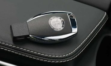 Mercedes-Benz smartkey car key