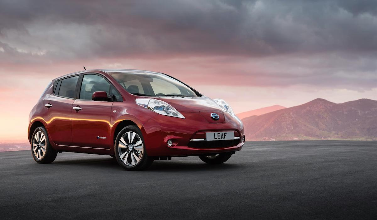 The top five electric vehicles in the United Kingdom 1