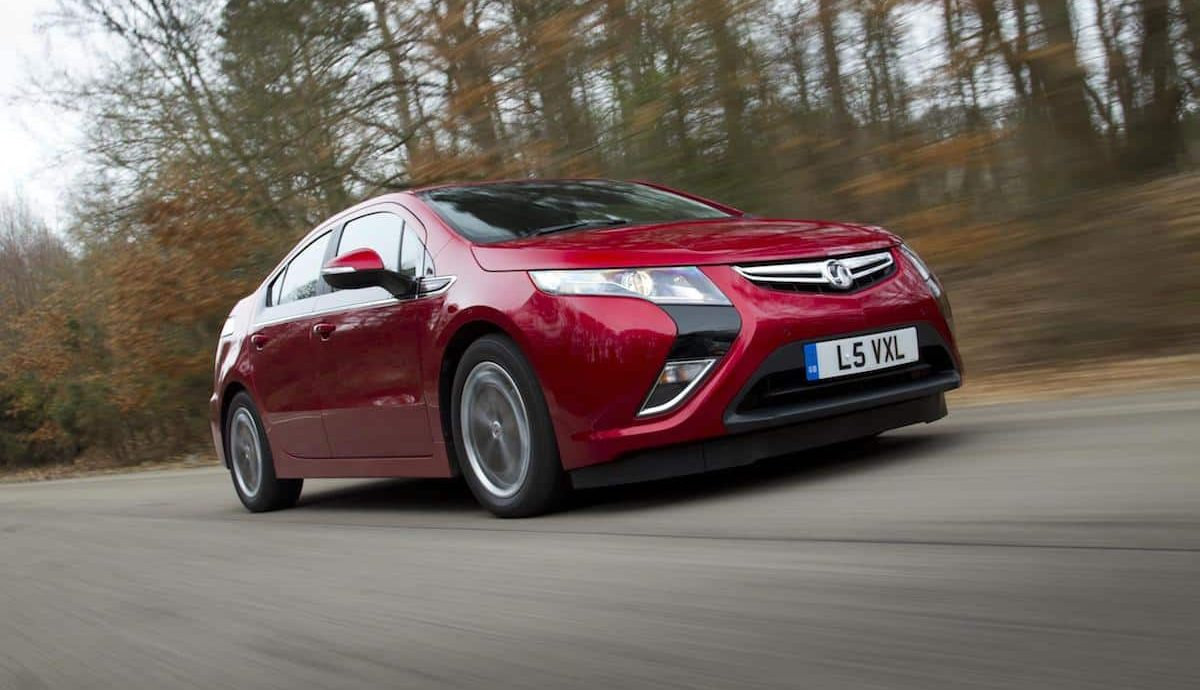 The Vauxhall Ampera and Chevrolet Volt are twin electric vehicles