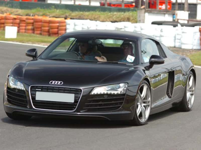 Audi R8 supercar driving experience