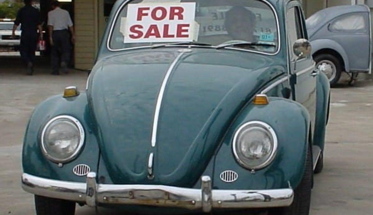 VW Beetles have good resale value