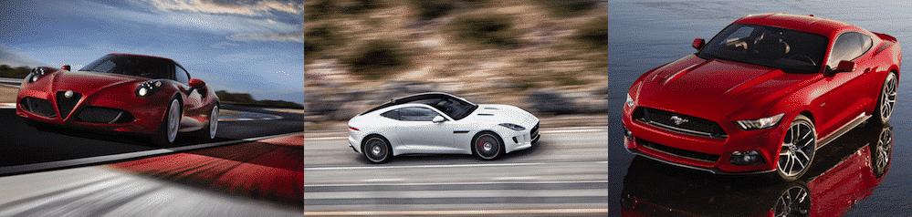2014 halo cars for Alfa Romeo, Jaguar and Ford