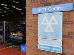 MOT test centre (The Car Expert 2013)