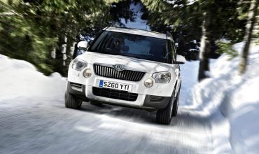 Skoda Yeti in winter