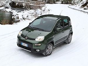 The Fiat Panda is better than most big SUVs in the snow