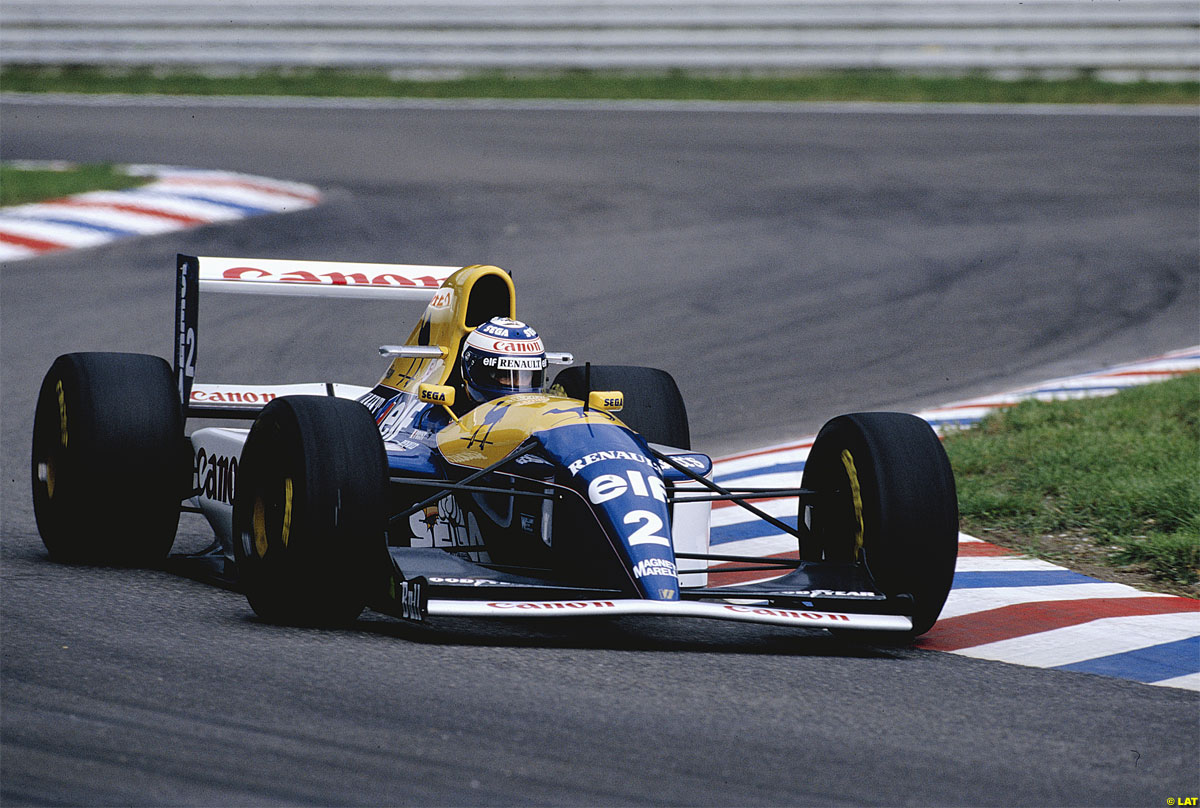 Alain Prost, Williams FW15C, 1993