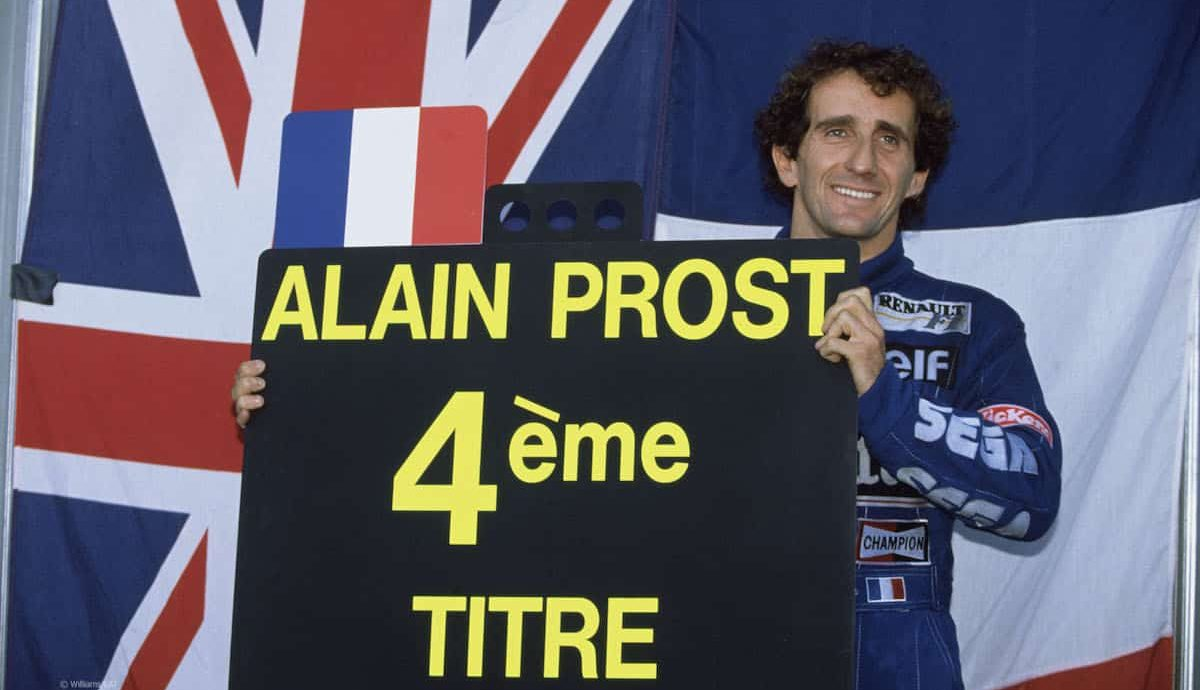 Alain Prost, Williams 1993