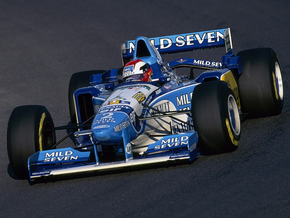 Mild Seven Benetton B195 (Tobacco advertising in Formula One)