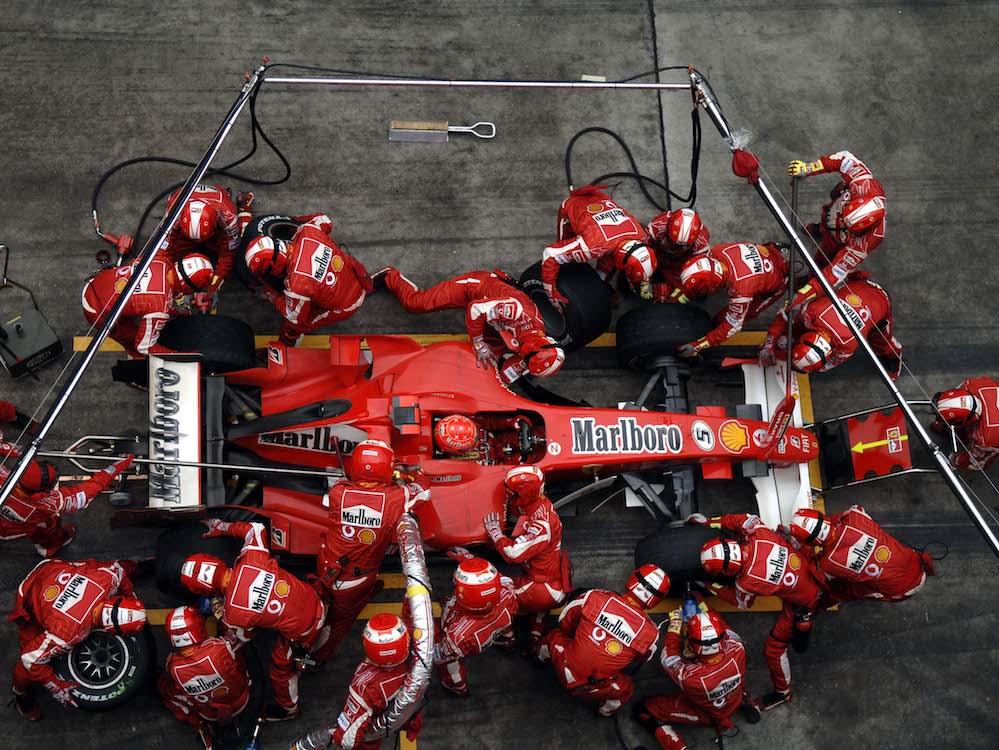 Marlboro Ferrari 248 F1, 2006, Michael Schumacher (Tobacco advertising in Formula One)