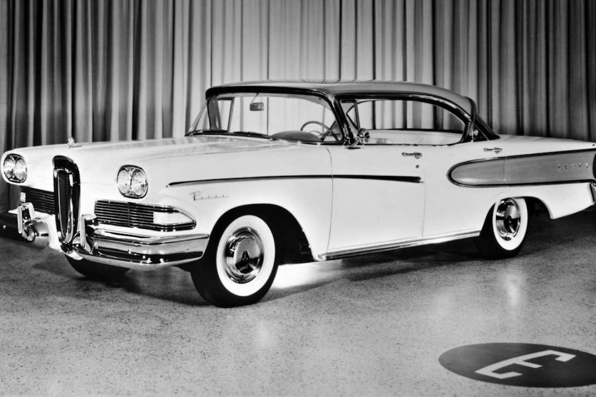 The Ford Edsel is regarded as one the biggest flops in automotive history