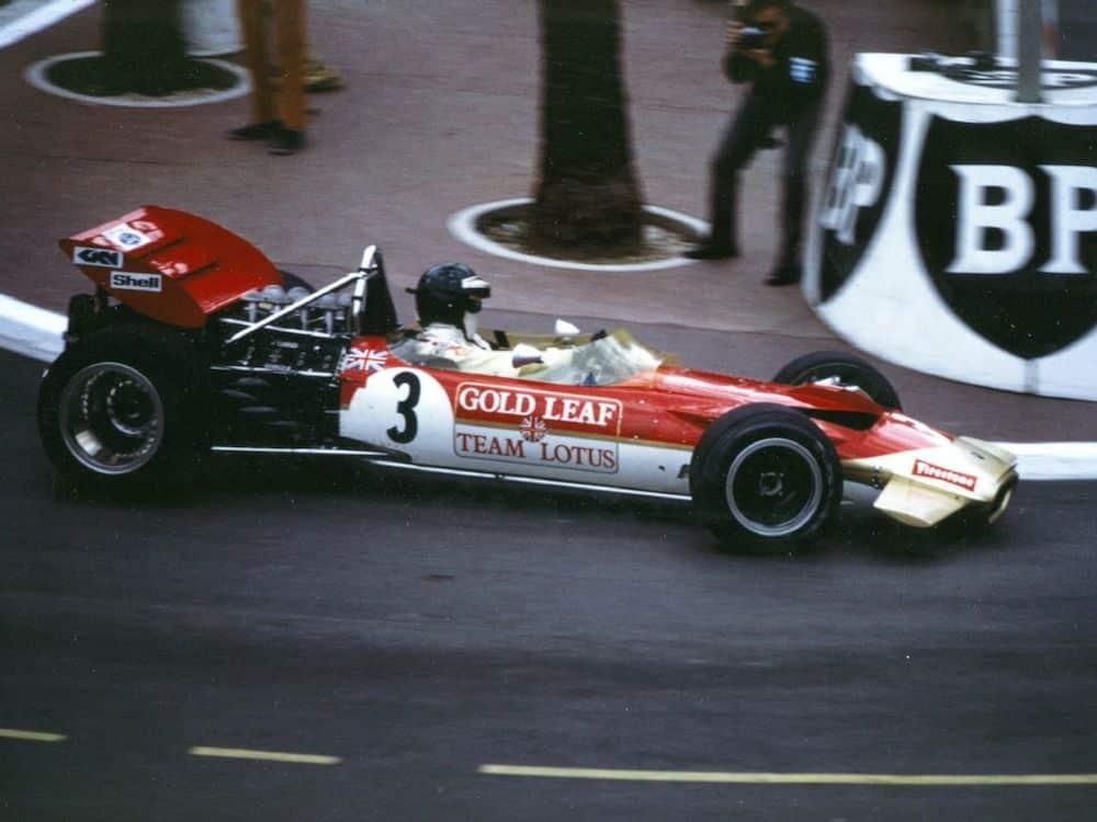 Gold Leaf Lotus 49, Monaco (Tobacco advertising in Formula One)