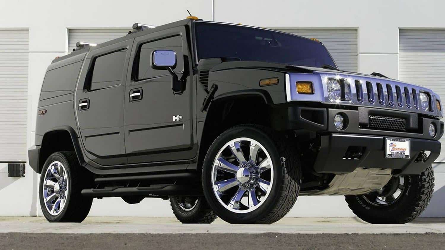 The Hummer H2 was a bit of a massive flop