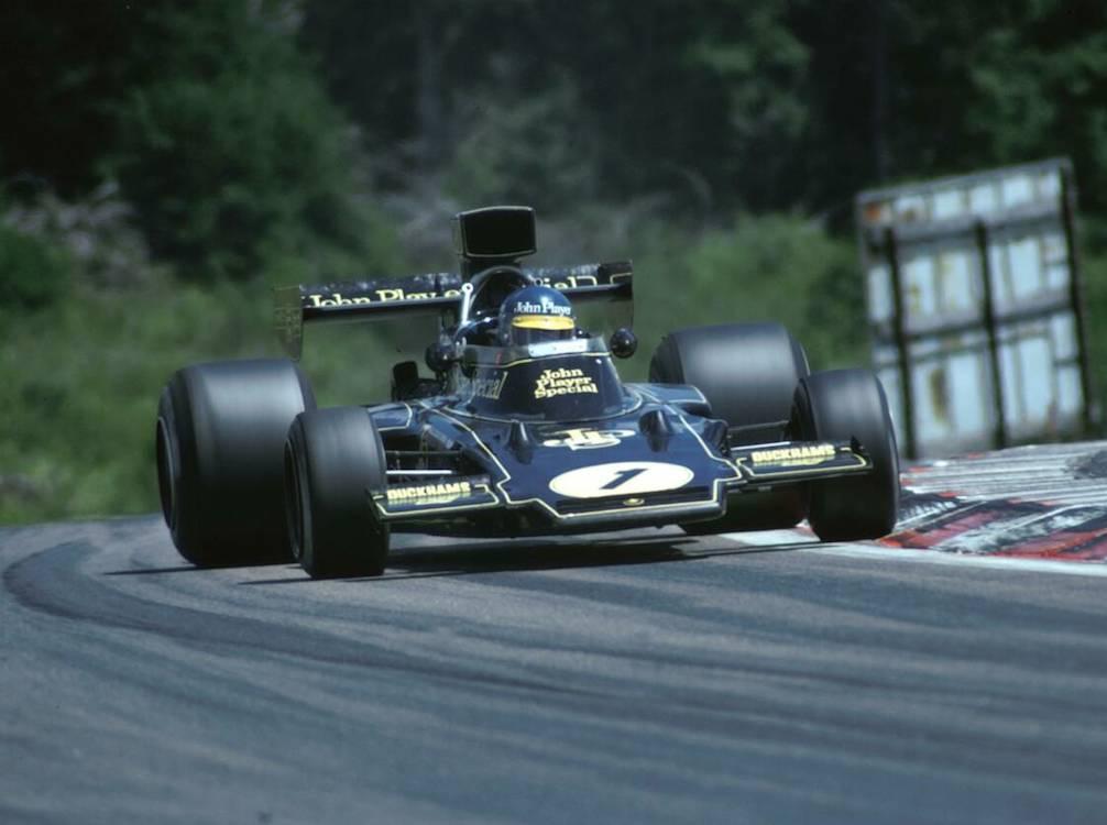 JPS Lotus 72, 1972, Ronnie Petersen