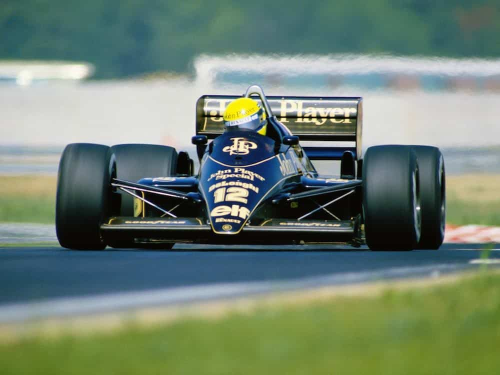 JPS Lotus 98T, 1986 (Tobacco advertising in Formula One)