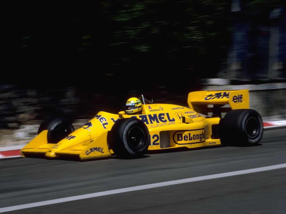 Camel Lotus 99T, Monaco 1987