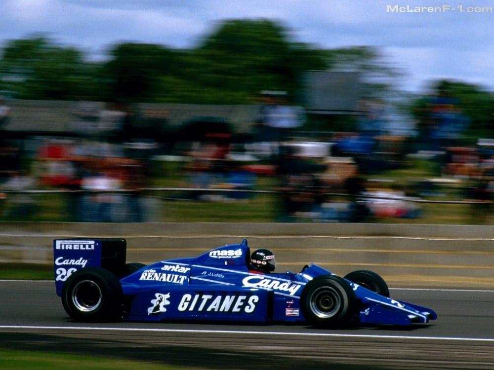 Gitanes Ligier JS25 (Tobacco advertising in Formula One)