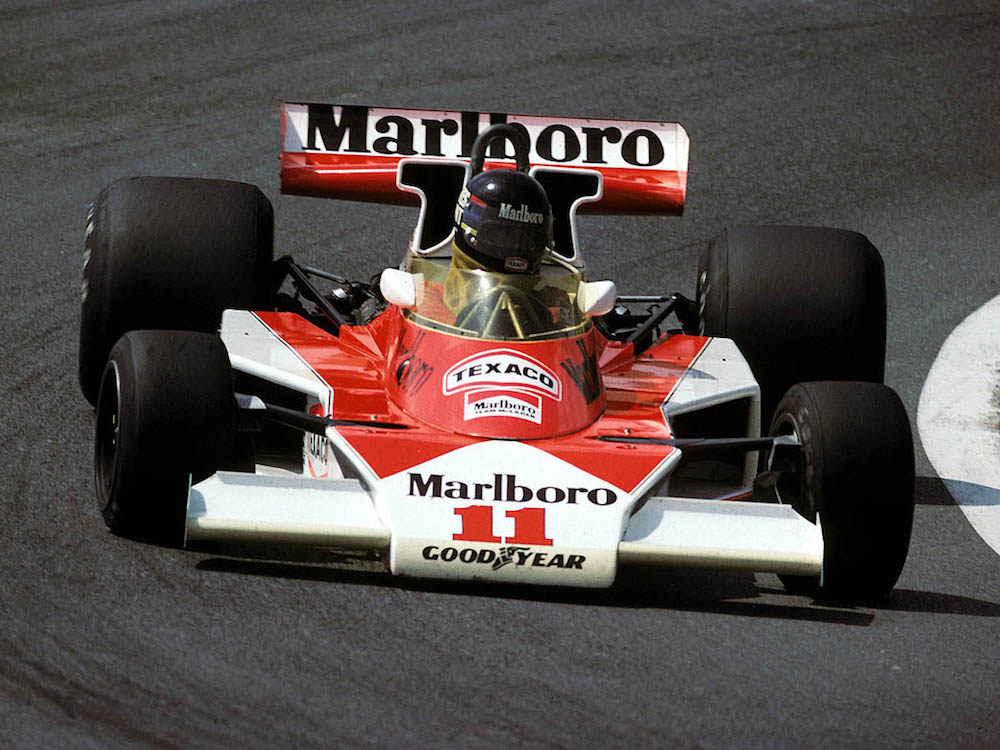Marlboro McLaren M23, 1976 (Tobacco advertising in Formula One)