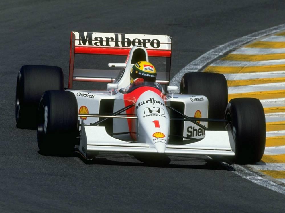 Marlboro McLaren Honda MP4/7, 1992