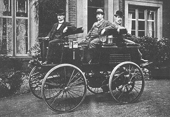 early electric car invented by Thomas Parker