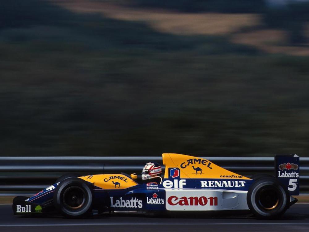Camel Williams FW15B, 1992