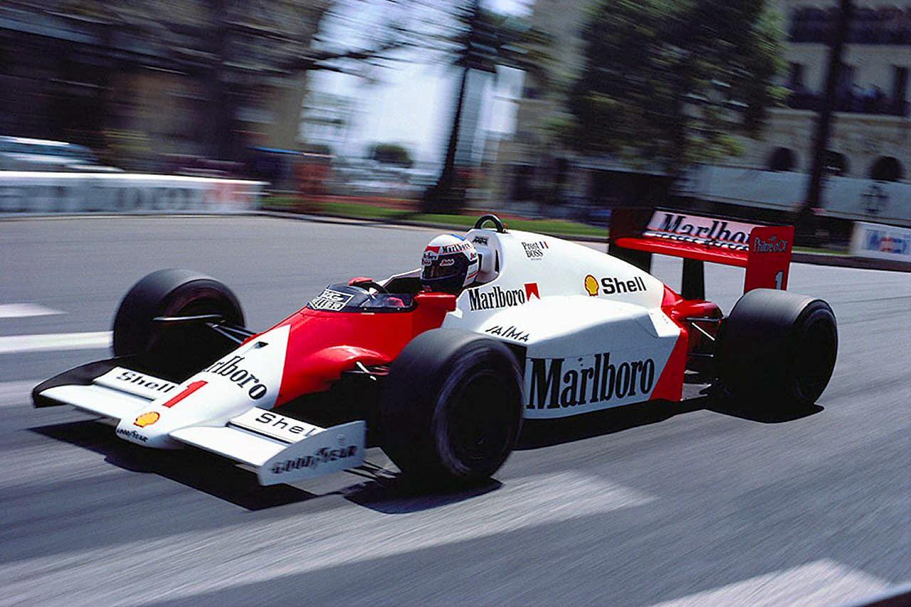 Alain Prost, Monaco 1986