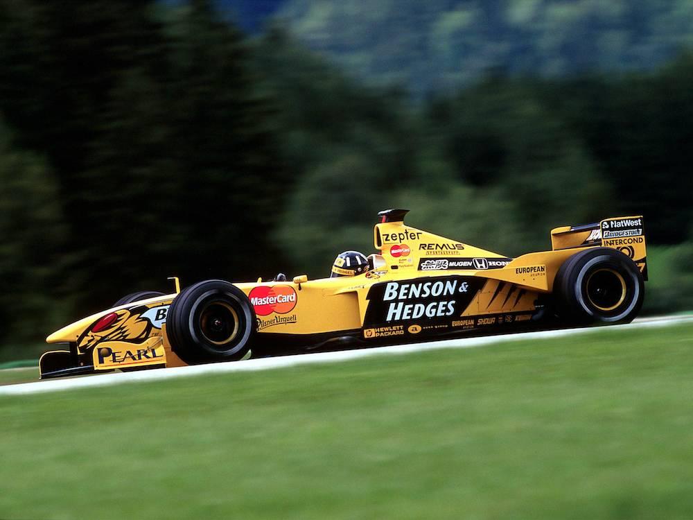 Benson & Hedges Jordan 199, 1999 (Tobacco advertising in Formula One)