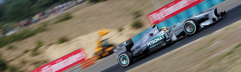 Lewis Hamilton, Mercedes-Benz W04, Hungary 2013