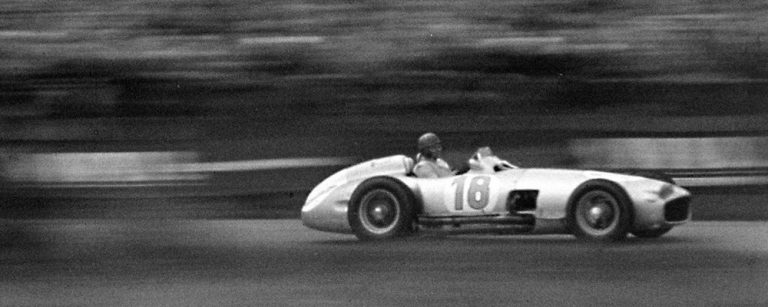 Magic moments in motorsport:  the Mercedes-Benz Silver Arrows