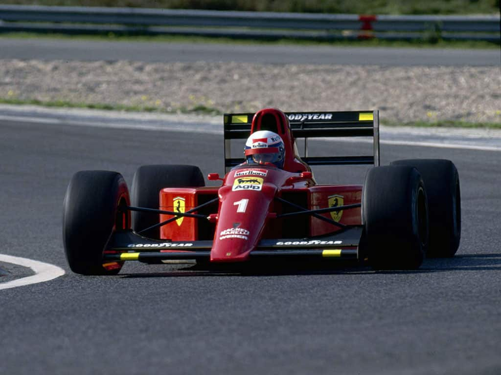Alain Prost, Ferrari 641, 1990