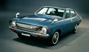 Nissan owned the Datsun brand, whig was sold in the UK until the mid-1980s