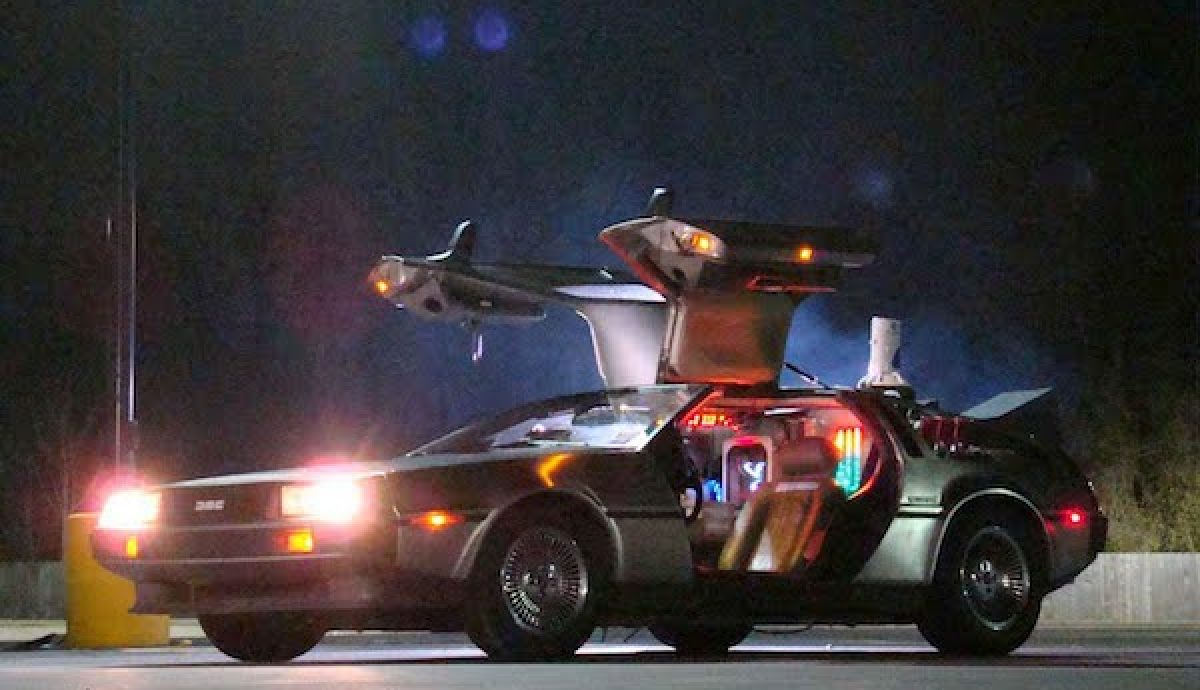 Best movie cars - DeLorean DMC-12 from Back to the Future