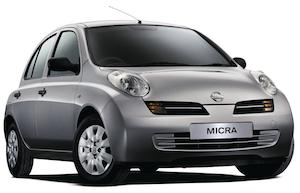 The Nissan Micra was a popular vehicle in the UK
