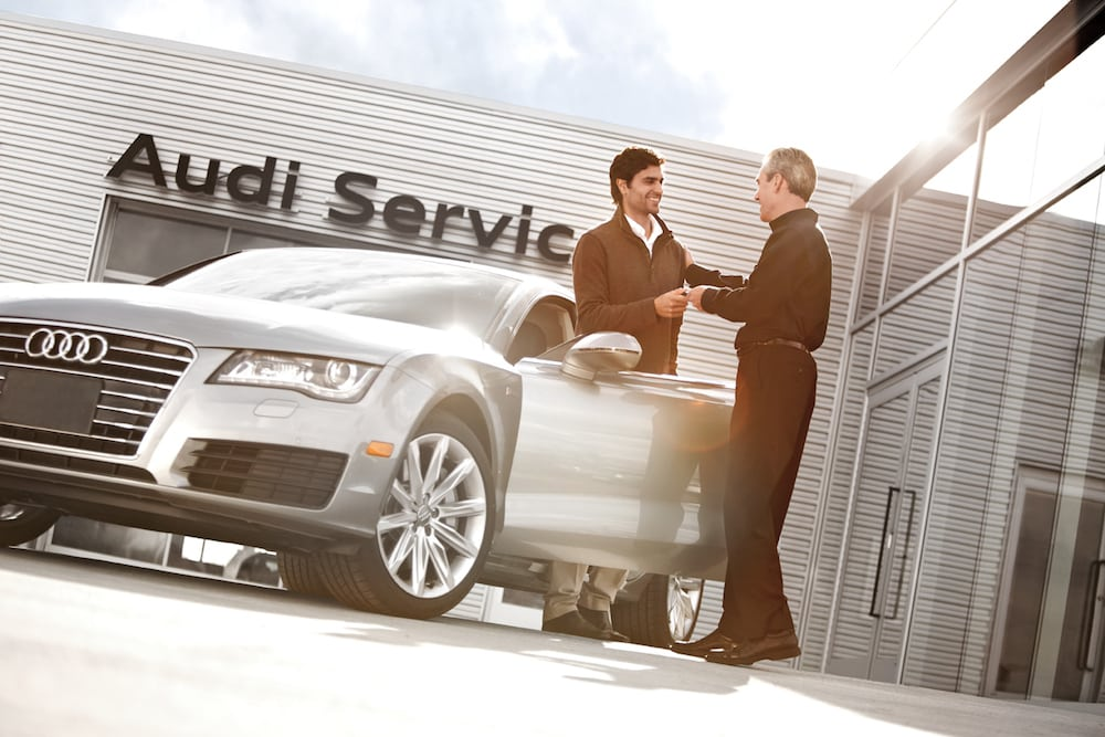A franchise dealership service history preserves your resale value