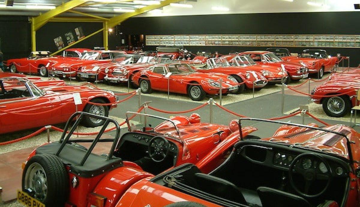 Haynes Motor Museum red room