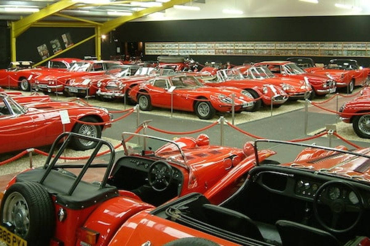 Haynes Motor Museum red room